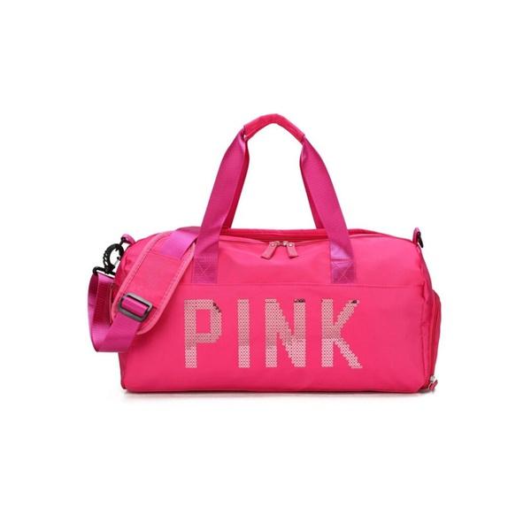 Mala Bolsa de Mão Sportiva Pink Rosa Pink