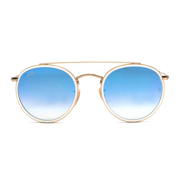 Ray BAn Round Double Bridge RB3647N 001/4O51