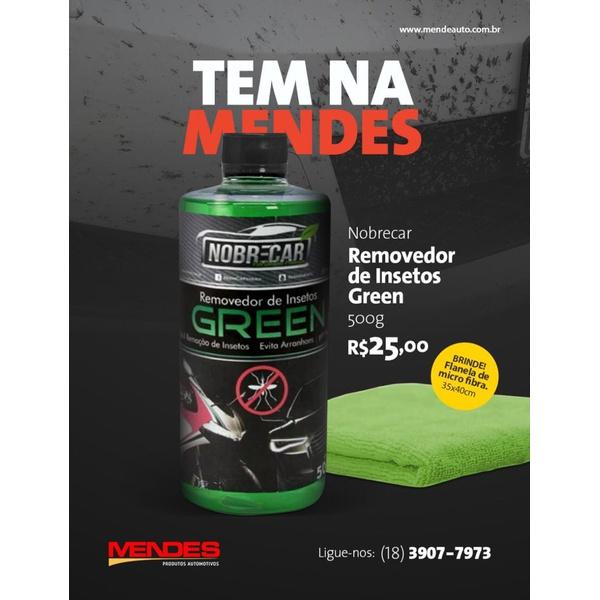Removedor de Insetos Green 500mL + Brinde