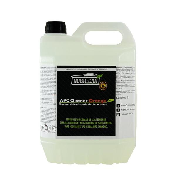 Apc Cleaner Orange 5l - Linha Premium (nobre Car) - 506