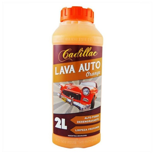 Cadillac Lava Autos Orange 2l - 444
