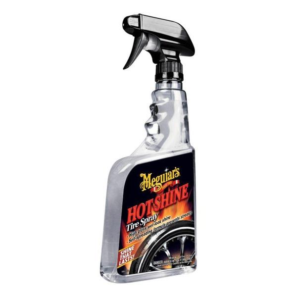 Brilha pneu spray hot shine