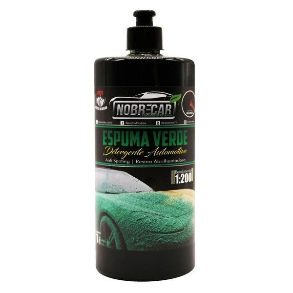 Espuma Verde 1l - Detergente Automotivo - Linha Premium (nobre Car) - 538