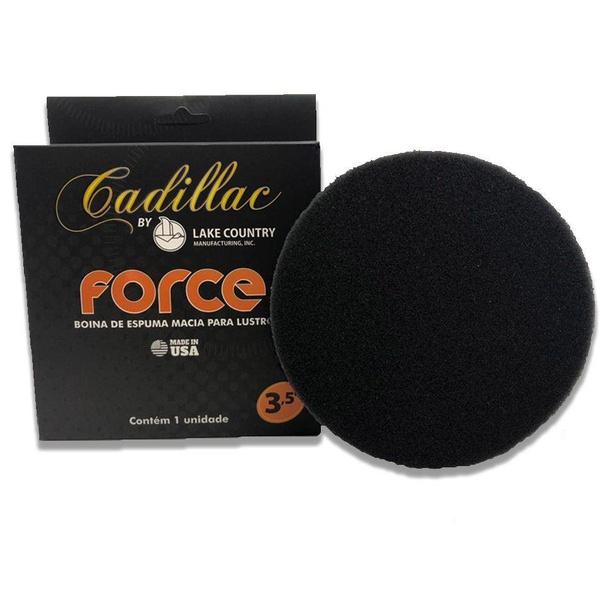 Boina de Espuma Preta Force Macia 3,5 pol Cadillac