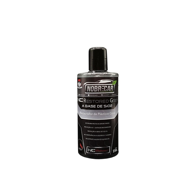 NC RESTORED GREY RESTAURADOR DE PLASTICOS CINZA NOBRE CAR 250ML
