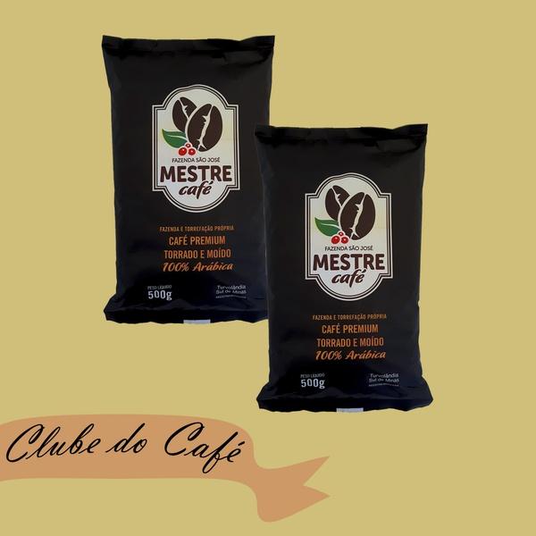Clube MESTRE CAFÉ MOÍDO PREMIUM - 01 kg - 100% Arábica
