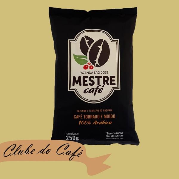 Clube MESTRE CAFÉ MOÍDO PREMIUM - 250g - 100% Arábica