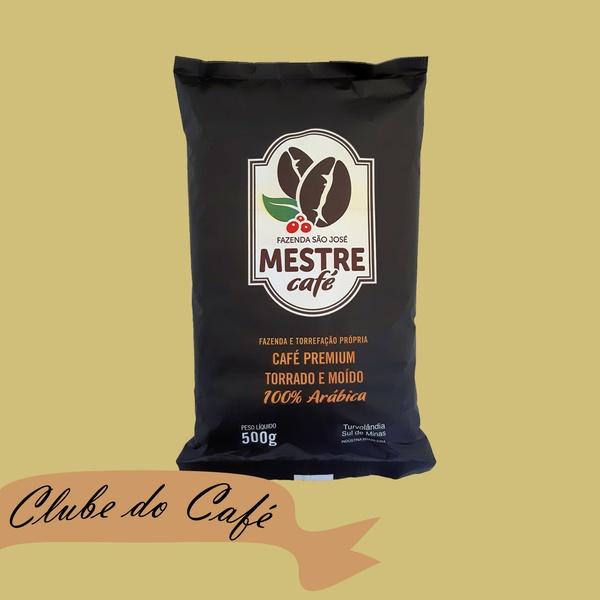 Clube MESTRE CAFÉ MOÍDO PREMIUM - 500g - 100% Arábica