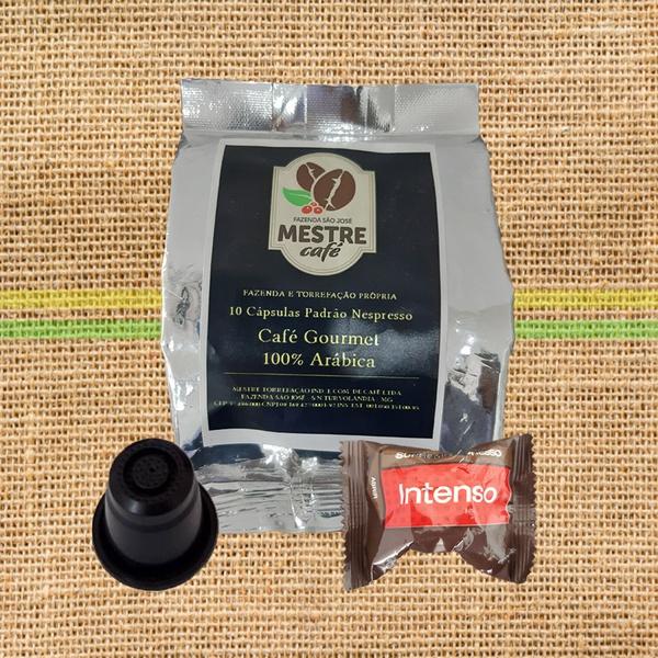 MESTRE CAFÉ 10 Cápsulas tipo Nespresso