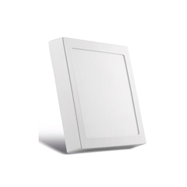 Painel Sobrepor LED Quadrado Branco 22x22Cm 20W BIV SE-240.596 3000k (Luz Amarela)- Save Energy
