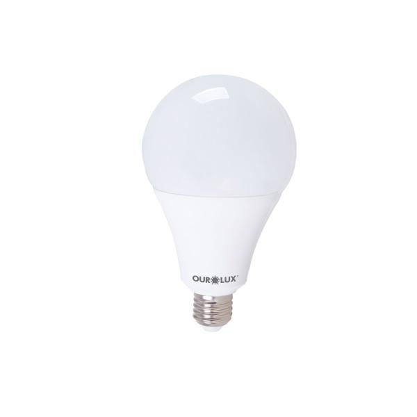 LÂMPADA LED BULBO 30W BIV 6500K (LUZ BRANCA) 20410 - OUROLUX