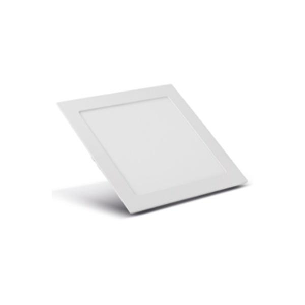 Painel Embutir LED Quadrado Branco 12W 17x17Cm Biv SE-240.587 3000K (Luz Amarela) - Save Energy