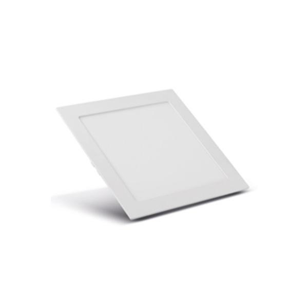 Painel Embutir LED Quadrado Branco 20W 22x22Cm Biv SE-240.593 3000K (Luz Amarela) - Save Energy