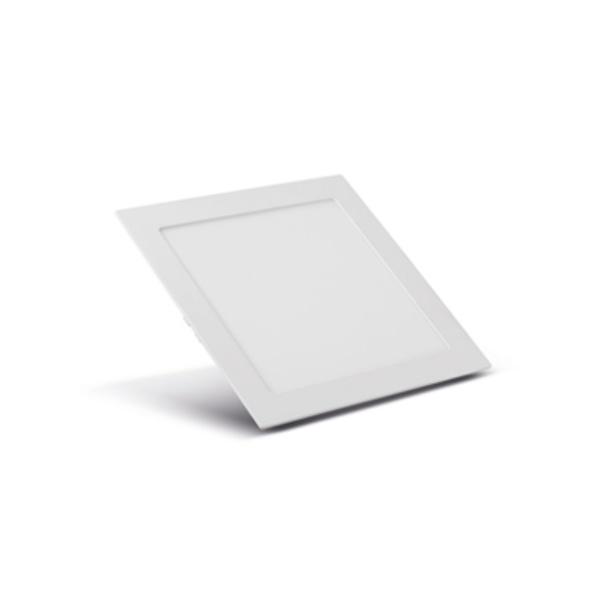 Painel Embutir LED Quadrado Branco 20W 22x22Cm Biv SE-240.595 5700K (Luz Branca) - Save Energy