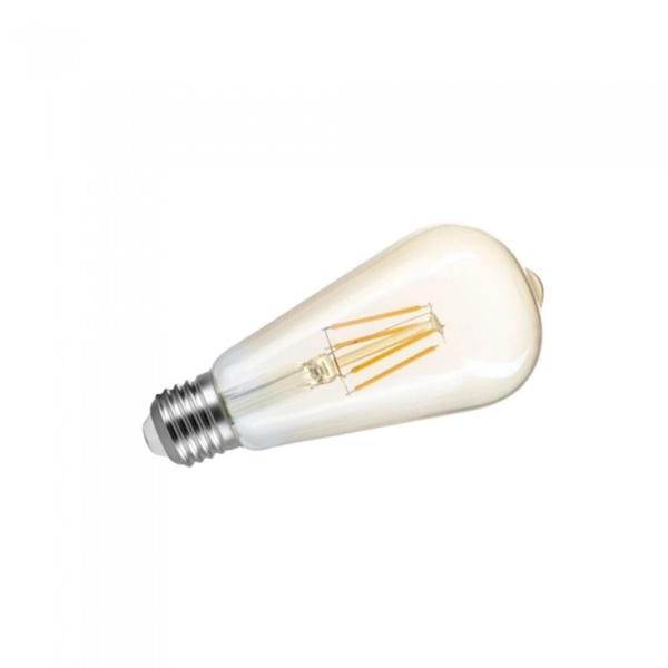 Lampada Led Retro Pera 4W BIV 2200K ST64 SE-345 1391