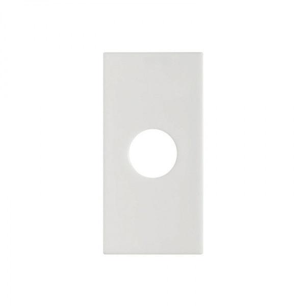 Módulo Saída de Fio com Furo Branco 85029 - Inova Pró