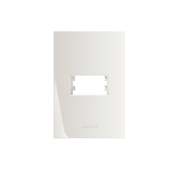 Placa 4x2 1 Módulo Com Suporte 85000 - Inova Pró