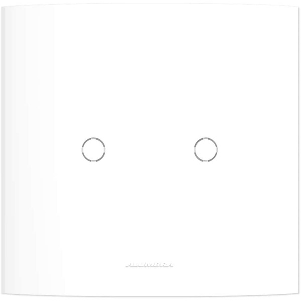 Placa 4x4 Cega c/ Suporte 85007 - Inova Pró