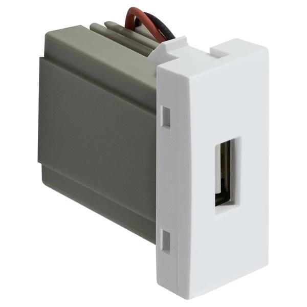 Tomada USB Bivolt Branca 85148/85070 - Inova Pró