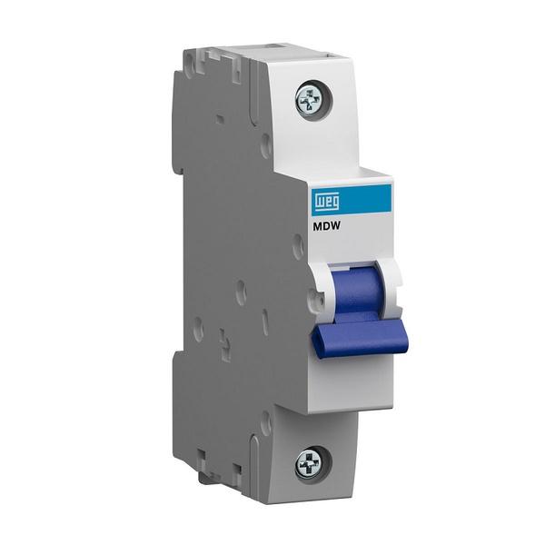 Mini Disjuntor Termomagnético Monopola 6A/C MDW-C46 10076397 - WEG