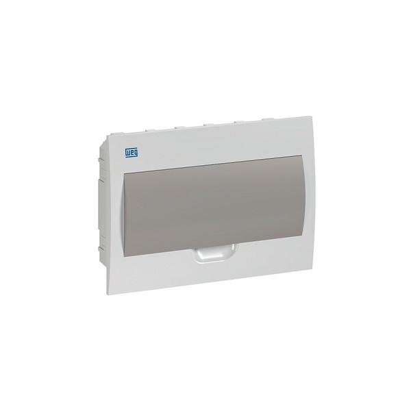 Quadro De Distribuição PVC Emb 12DIN BR/Fumê QDW02-12-FE - 11377484- WEG