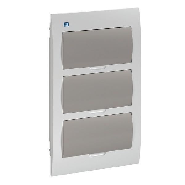 Quadro De Distribuição PVC Emb 36DIN BR/Fumê QDW02-36-FE - 11377478 - WEG