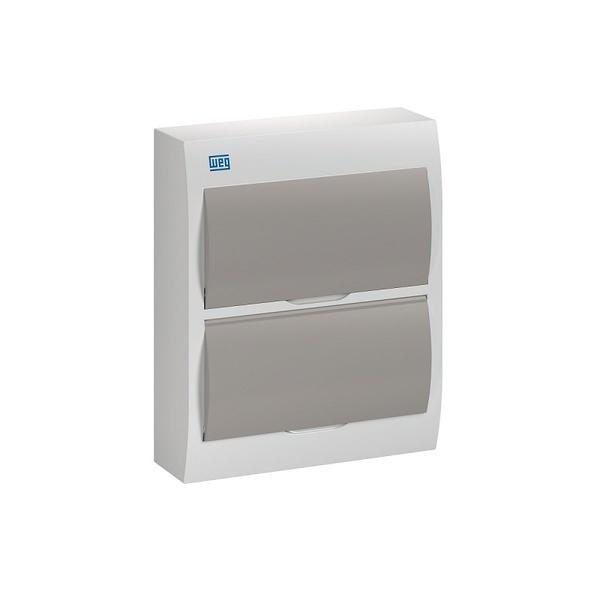 Quadro De Distribuição PVC Sob 24DIN BR/Fumê QDW02-24-FS - 11377398 - WEG