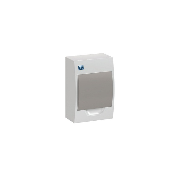 Quadro De Distribuição PVC Sob 6DIN BR/Fumê QDW02-6-FS - 11377400 - WEG