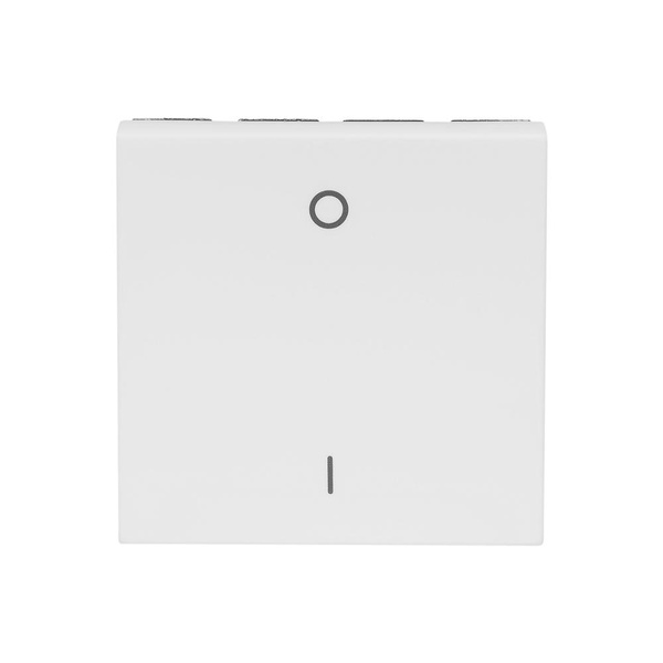 Interruptor Bipolar Simples Branco 572040B - ARTEOR