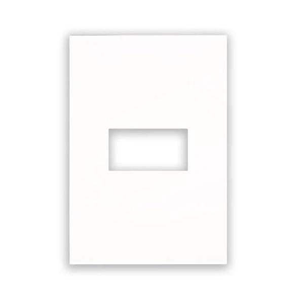 Placa 4 x 2 Branca 1 Mod 582562B - ARTEOR