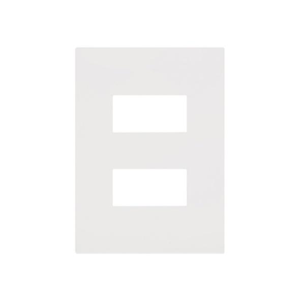 Placa 4 x 2 Branca 2 Mod 582564B - ARTEOR