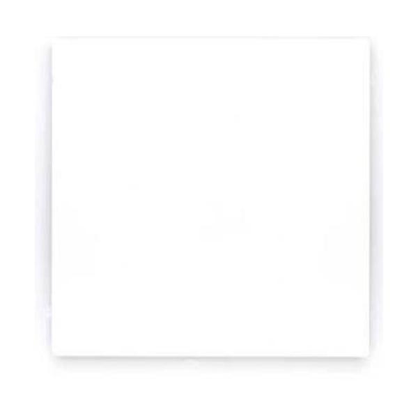 Placa 4 x 4 Cega Branca 575360B - ARTEOR