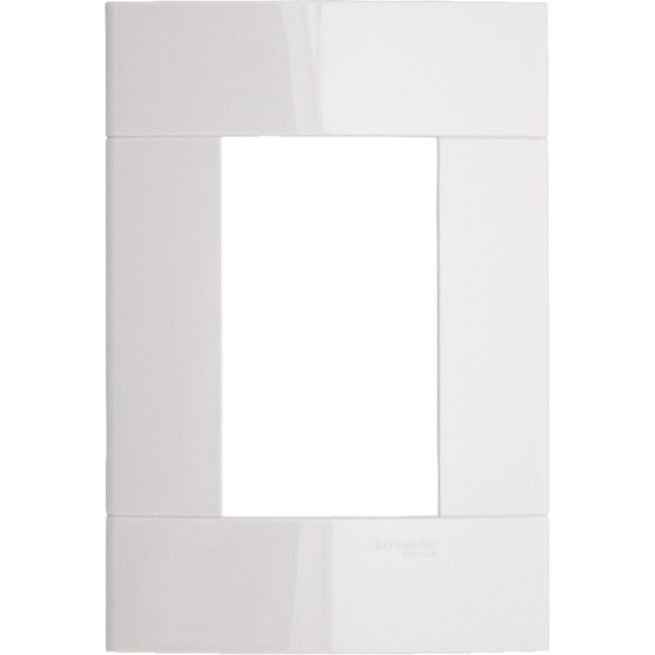 Placa 4x2 3 Módulo Branco PRM044231 Decor - Schneider