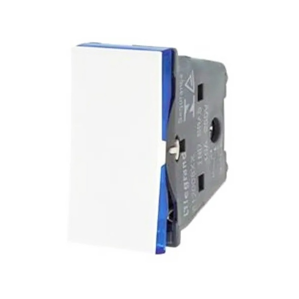 Interruptor Paralelo Branco - 611001BC Pial Plus +