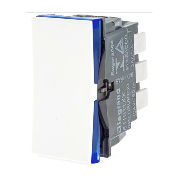 Interruptor Paralelo Branco - 611011BC Pial Plus +