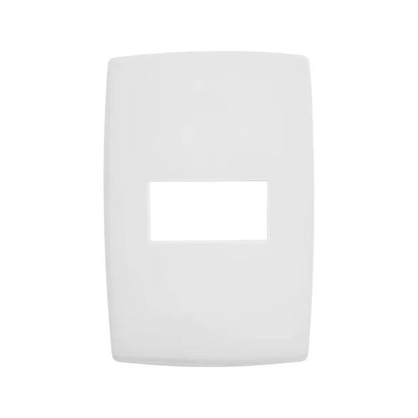 Placa 4x2 Horizontal para 1 Módulo Pial Plus+