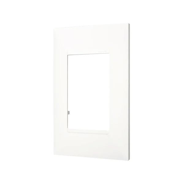 Placa 4x2 3 Postos Branca - 618503BC - Pial Plus+