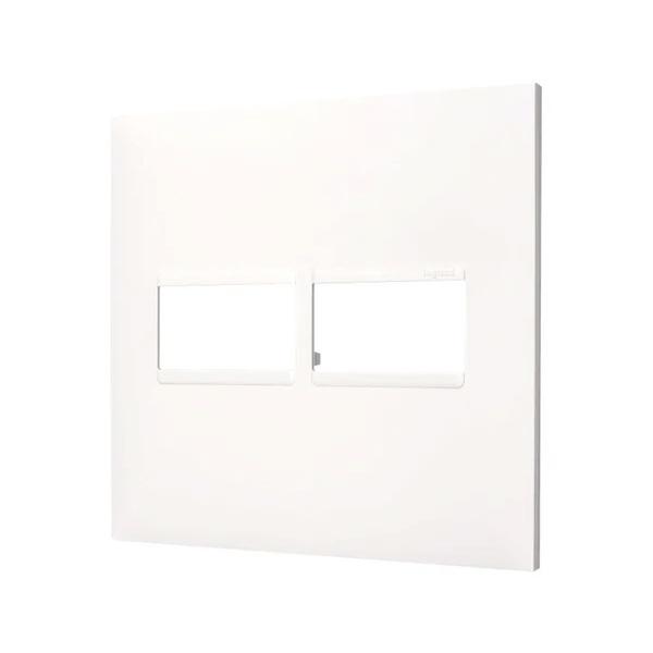 Placa 4x4 2mod Pial Plus+ Branca 618511BC - Pial Plus+