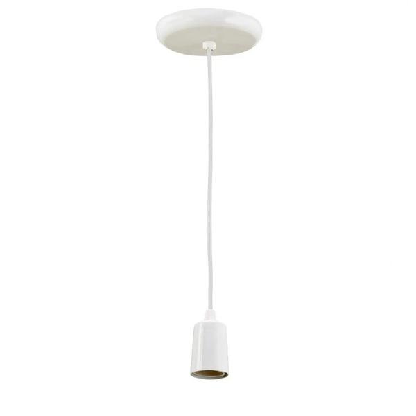Pendente de Aluminio para 1 Lampada (Várias Cores) E27 8420/1