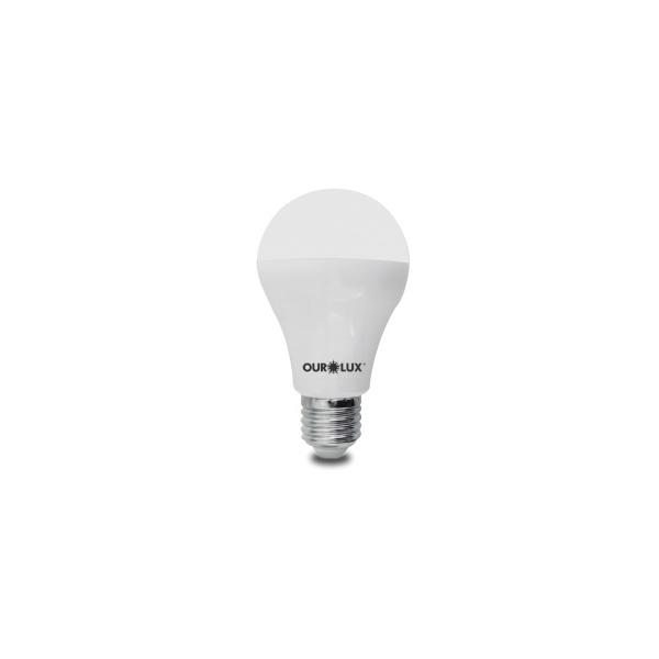 Lâmpada LED Bulbo 15W Bivolt 3000K 20395 - OUROLUX