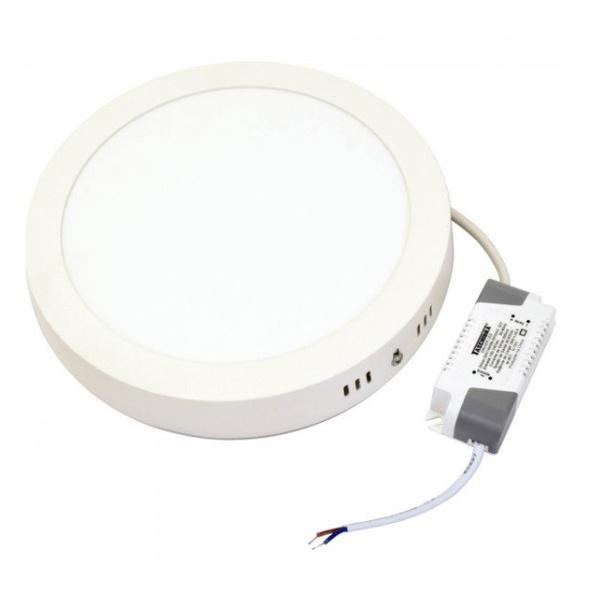 Painel Sobrepor LED Redondo 18W Bivolt 6500K Taschibra