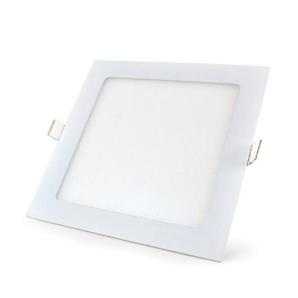 Painel LED Emb Quadrado 18W Bivolt 3000K 21029 - ECOLUME