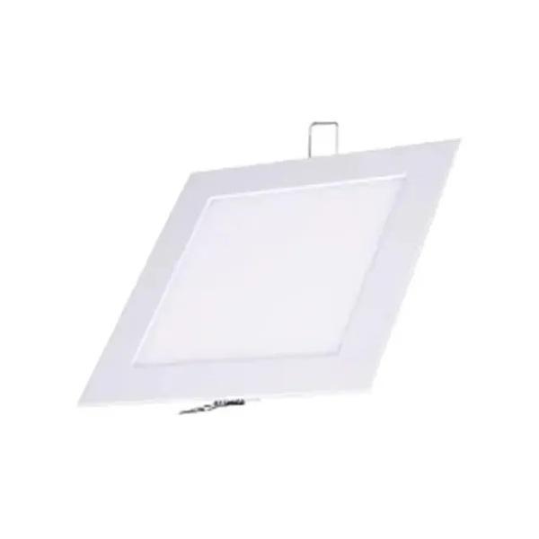 Painel Led de Embutir Quadrado 24W Bivolt 3000K (Branco Quente) - ECOLUME