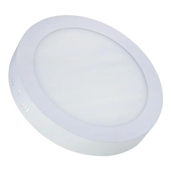 Painel Sobrepor LED Redondo 25W Bivolt 3000K MB2503(R)