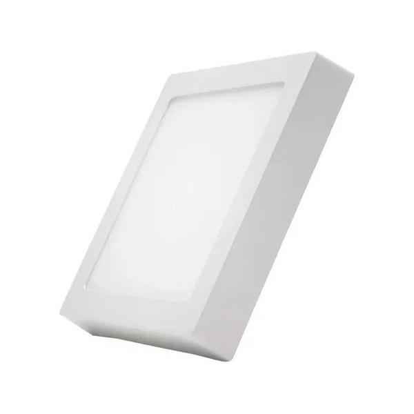 Painel Sobrepor LED Quadado 18W Bivolt 3000K MB2503(Q)