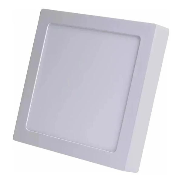 Painel Sobrepor LED Quadado 25W Bivolt 3000K MB2503(Q)