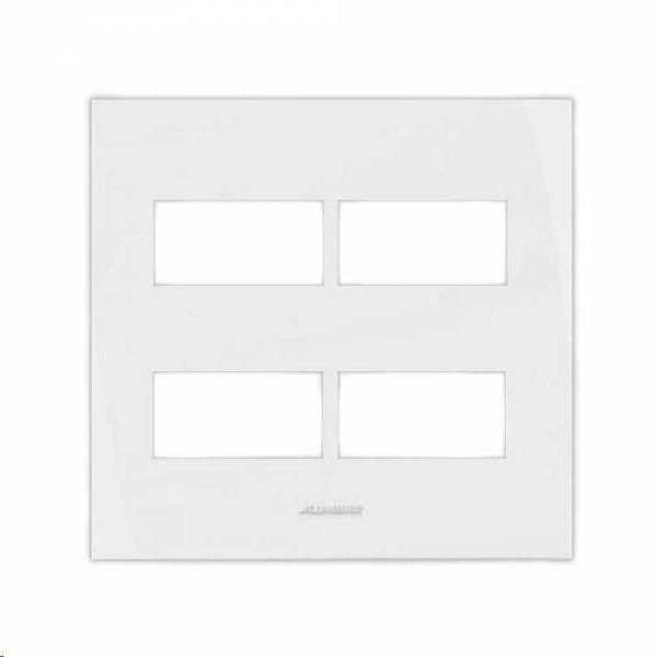 Placa 4x4 4 Módulos c/ Suporte 85005 - Inova Pró