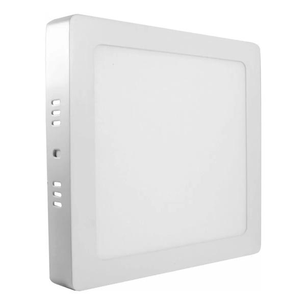 Painel LED Sobrepor Quadrado 24W Bivolt 3000K 18139 - TASCHIBRA