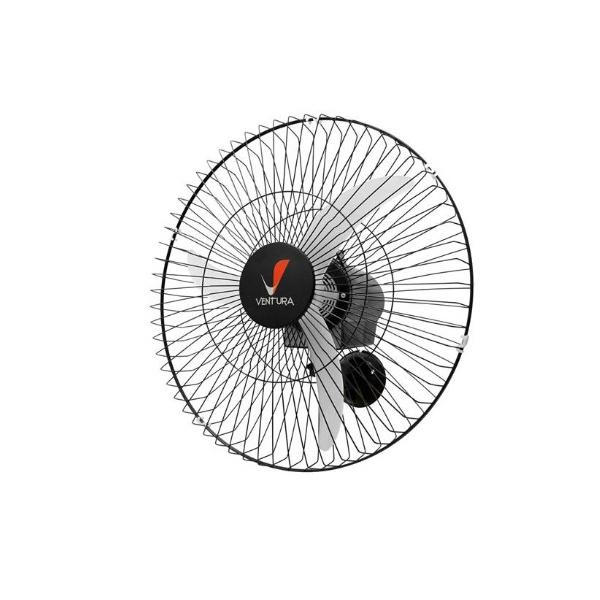 Ventilador Oscilante de Parede Ventura 60cm Bivolt (PT ou BR) - VENTI DELTA
