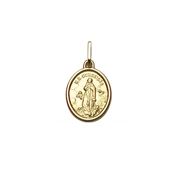 Pingente Nossa Senhora da Conceição em Ouro 18K
